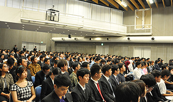 Students from 33 countries joined the Institute