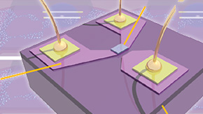 Exploring defects in nanoscale devices for possible quantum computing applications