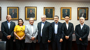 Visit by Scientific Advisor of the Council of State, Republic of Cuba