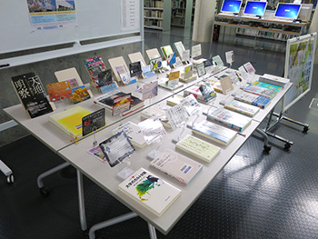 Display at Ookayama Campus