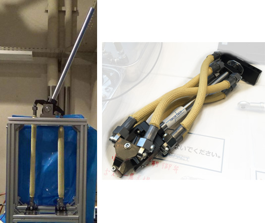 Application example of a robot arm
