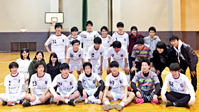 Tokyo Tech second in 1st Division of FFC College Futsal League