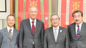 Director General Francis Gurry of World Intellectual Property Organization visits Tokyo Tech