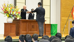 2016 Tokyo Tech High School of Science and Technology graduation ceremony