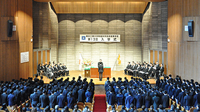 Tokyo Tech High School of Science and Technology 2017 entrance ceremony
