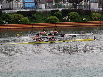 Men's double scull