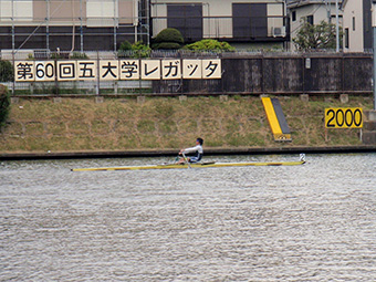 Men's single scull