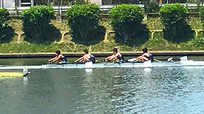 Rowing club takes two trophies at Kanto Regatta