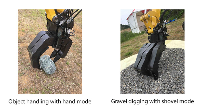 Examples of work using tough robot hand