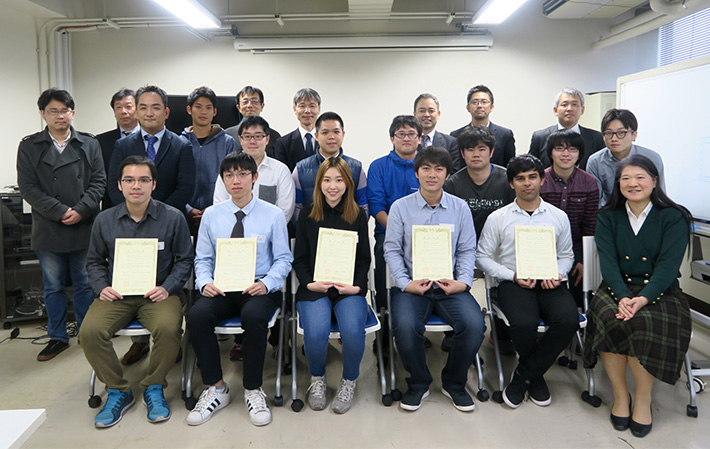 Participants with certificates of completion