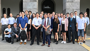 TU Delft honors student delegation visits Tokyo Tech Engineering Schools