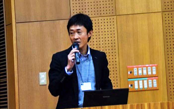 Special lectures by Associate Professor Terada (left) and Associate Professor Takagi