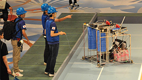 Team Maquinista commended for top four finish in ABU Robot Contest