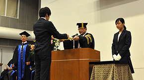 Safer and happier world for all citizens — Fall 2017 Graduation Ceremony