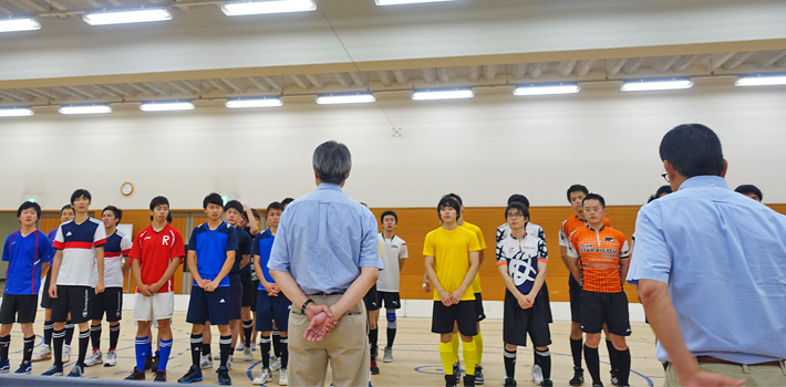 Award ceremony with Tachikawa CSC1 in yellow