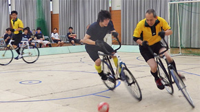 Tokyo Tech duo to represent Japan in UCI Cycle-Ball World Cup