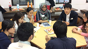 New international students welcomed during Welcome Coffee Hours