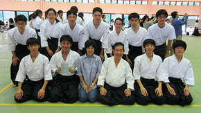 Aikido Club wins gold prize
