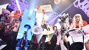 Tokyo Tech maker's spirit culminates in Japan's biggest Halloween events