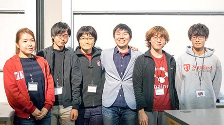 Tokyo Tech student's team 3rd in Stanford health hackathon