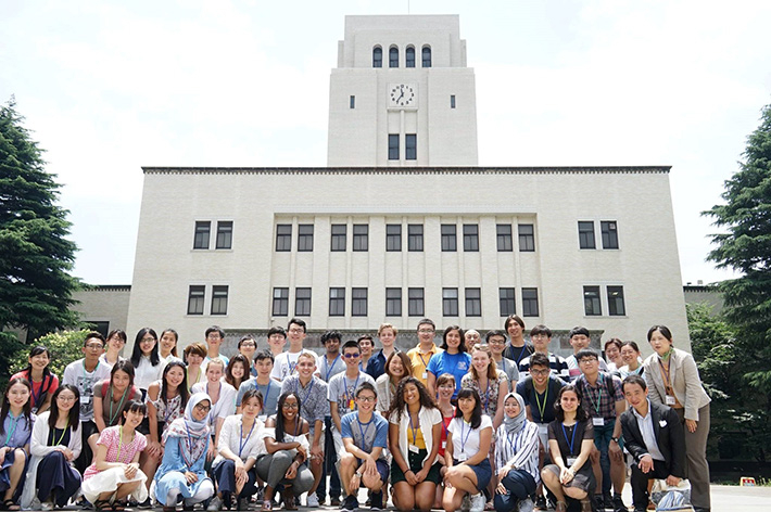 CAMPUS Asia Program & Summer Program participants with Tokyo Tech students