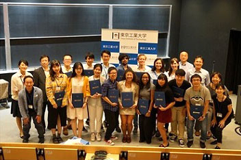 Final presentations and closing ceremony with Tokyo Tech summer program students