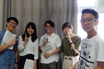 A cappella experience with Tokyo Tech student club