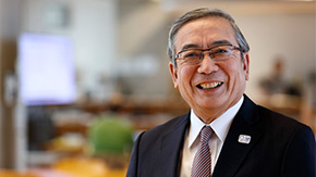 Farewell message from President Yoshinao Mishima