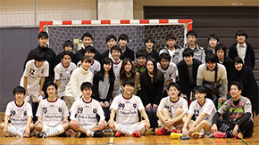 Tokyo Tech 2nd in FFC College Futsal League