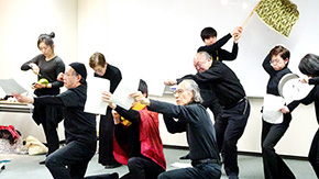 """Take a soldier, take a king"" — Tokyo Tech does Shakespeare's Henry V"