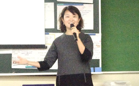 Representative Director Hiromi Tengeji of Kopernik Japan