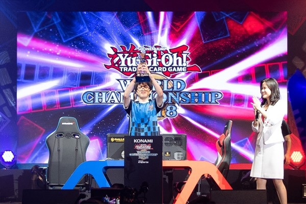 Tokyo Tech student is 2018 Yu-Gi-Oh! Duel Links world