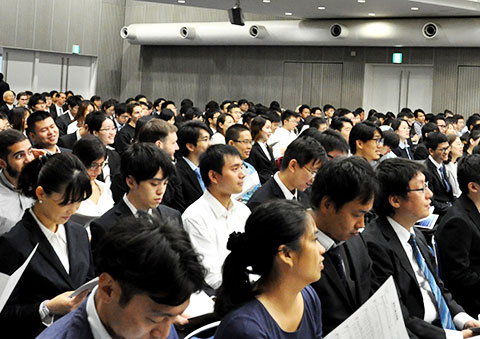 Students from 40 countries and regions joined the Institute