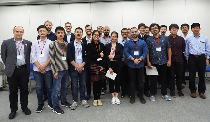 Course participants and lecturers at Tokyo Tech