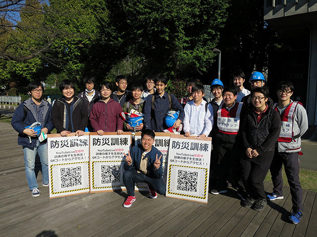 Members of Tokyo Tech Volunteer Group and Meister