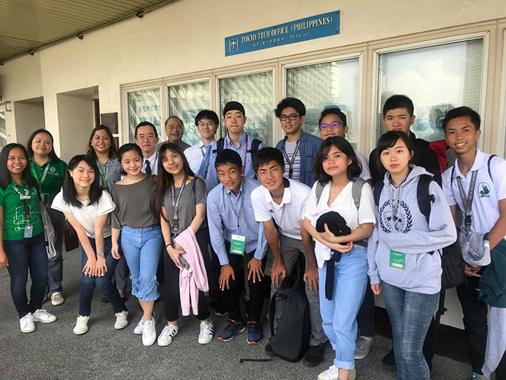 Students from Japan visiting Tokyo Tech Philippines Office