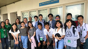 Tokyo Tech High School of Science and Technology students visit Philippines