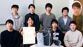 Tokyo Tech's space shower commended at 26th Satellite Design Contest