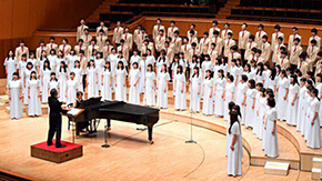 Chor Kleines wins silver at National Choral Competition
