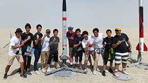 Tokyo Tech teams lead way in ARLISS rocket launch