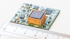 Tinier and less power-hungry quantum atomic clock push toward intelligent IoT