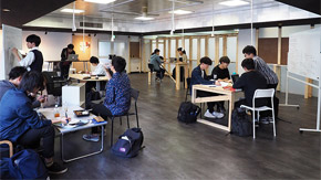 New student-led co-working space Attic Lab born on Ookayama Campus