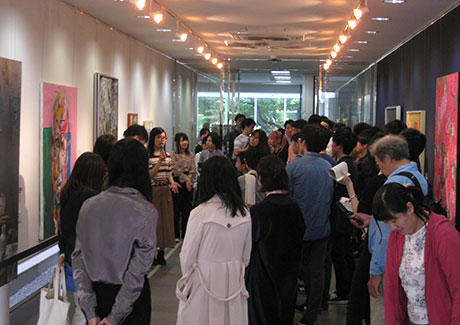 Gallery talk by artists from Joshibi University of Art and Design