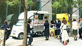 Food trucks to serve lunch on Ookayama Campus from June 18