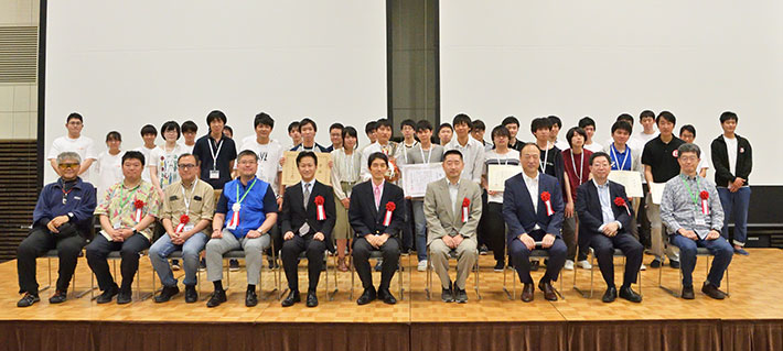 Contest participants and judges