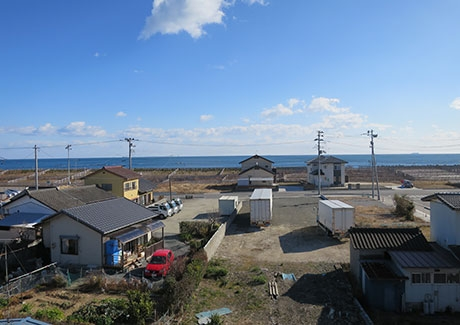 Hisanohama, an area badly damaged by the 2011 quake and tsunami