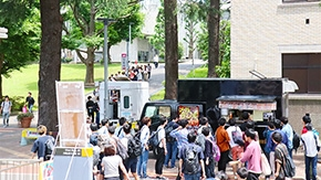 Food trucks now on Ookayama Campus every weekday