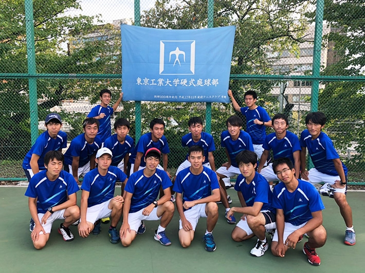 Tennis team promoted to Division 2 of Kanto polytechnic universities league