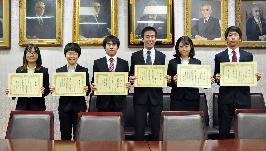 2019 Tokyo Tech Award for Student Leadership recipients