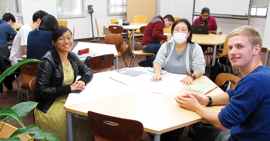 Exchange between language partners and international students